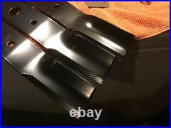 1001513KT Woods OEM 21 Inch High Suction Finish Mower Blade Kit Set of 3