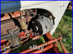1940-1941 Ford 9N Tractor hi lo transmission, blade finish mower
