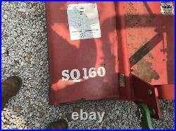 1992, John Deere 870 tractor With Bushhog Disk Box Blade Finishing Mower & Scoop