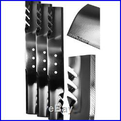 20.5 in. G6 Commercial Grade Blade Set for 60 in. Finish-Cut Mowers (3-Pack)