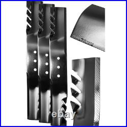 20.5 in. G6 Commercial Grade Blade Set for 60 in. Finish-Cut Mowers (3-Pack) New
