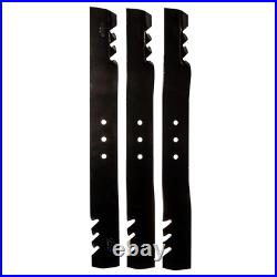22.5 inch Blade Set for 66 inch Lawn Mowers Finish Cut Swisher