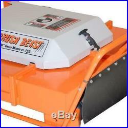 36 In. Brush Mower Deck Conversion Kit For Finish Mowers Dual Breakaway Blades