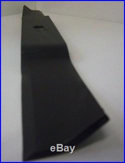 3 Caroni 72 Finish Mower Blades Italian Made 24 Long 11/16 Hole