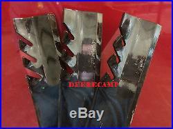 3 Gator blades Bush Hog #82324 finishing grooming mower RDTH60/TH60 396629