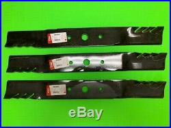 3 Gator blades Frontier GM1072R grooming finish mower replaces #5WP1008199KT