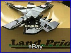 3 Gator blades Landpride AT2572, AT2672 & FD2572 72 grooming finish mowers