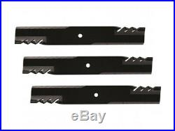 3 Gator blades Landride 6' (72) grooming finish mower replace 890-172C