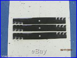 3 Replacement Mulching Blades For A 5' Howse Finishing Mower, Fits C360