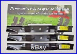 3 USA Xht Blades For 6' Finishing Mower Caroni 71001000 Maschio T14004020 Sitrex
