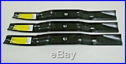 3 USA Xht Blades Maschio T14004020 6' Finishing Grooming Mowers Rear Or Side Dis