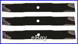3 blades Frontier GM1060E/GM2060 72 grooming finish mower replace 5BP0006845