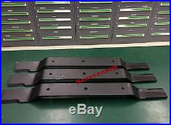 3 blades for 100 Rhino FM100 finish mowers replaces 00769347 RH00769347X