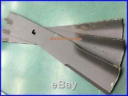 3 blades for 84 Farm King/Buhler finish mowers replaces #966167 FK966167X