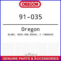 3pk Oregon Mulching Blade Bush Hog FTH ATH 600 720 Finish Rotary Mowers 88668