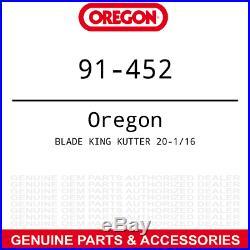 3pk Oregon Mulching Blade King Kutter RFM-60 Rotary Finish Mowers 190320 502320