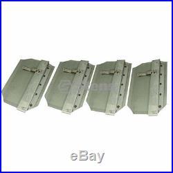4 Trowel Blades / Finish Blades 10 X 14 fits 36 Machines Allen Bartell Best