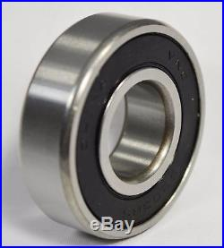 6205-2RS C3 Premium Ball Bearing Fits Finish Mower Blade Spindles