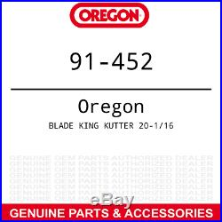 6pk Oregon Mulching Blade King Kutter RFM-60 Rotary Finish Mowers 190320 502320