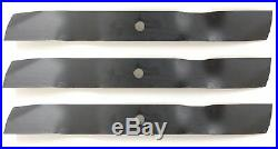 Befco 6641M 5' Mulching Finish Mower Blades (High Lift) Set of 3