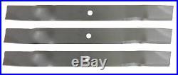 Befco 6845M 6' Mulching Finish Mower Blades (High Lift) Set of 3