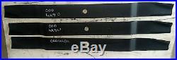 Befco 84 Cut Medium Lift Finish Mower Blades Set of Three (3) 000-6690