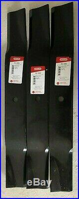 Big Bee FM60 5' Finish Mower Blades Set of Three (3) FM-04-2A