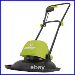 Black/Green Finish Electric Hover Mower 11-Inch 10-AMP Compact Liightweight
