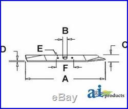 Blade, Finishing Mower, Set 0F 3 70712-99010