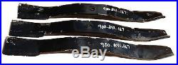 Blades for Sovema EM2 Series 60 cut Finish Mower, OEM Cast Steel Blades
