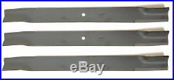 Bush Hog 82324 60 Cut Finish Mower Blades Set of 3