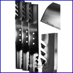 Commercial Grade G6 Blade Set For 60 In Finish Cut Mowers 3 Pack New