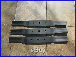 County Line FM 5 Finish Mower Blades Set of Three (3)