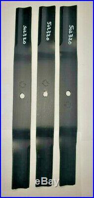 County Line FM 5 Finish Mower Blades Set of Three (3) code 502320