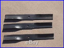 Cub Cadet 759-3779 Woods 34615kt Oem 60 Finish Mower Blade Set