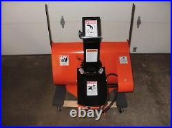 DR POWER Field & Brush Mower with Finish Mower and Snowblower attachments