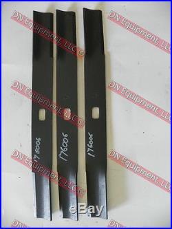 Douglas Finish Mower Blades, Set of 3, 176006