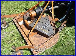 Ford 1510 Tractor (4WD) with Finish Mower, Sweeper, Snow Blade, Manuals