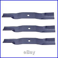 K5617-34330 New Pack of 3 Blades Made to fit Kubota Finishing Mower Models