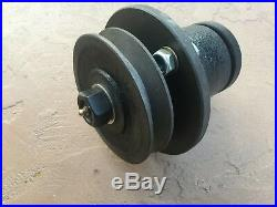 King Kutter 502303 and County Line blade spindle for finishing grooming mowers