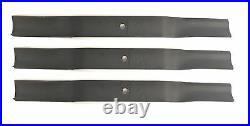 King Kutter 502320 5' Finish Mower Blades Set of 3