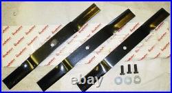 King Kutter 7' Finish Mower Blades Set of Three (3) 502328