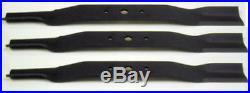 Kioti Sicma WAC Phoenix First Choice 72 Finish Mower Blades, Set of 3, 5812703