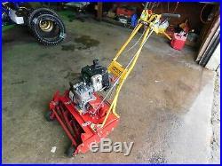 McLane 20 Self Propelled, 7 Blade, 5.25GT Briggs Reel mower finish mower