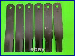 New John Deere/Frontier GM2109 finish/grooming mower blade set 5BP0044598