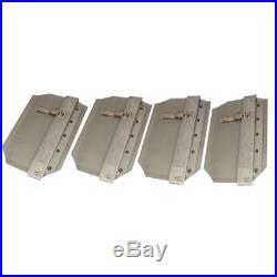 New Stens 750-039 4 Trowel Blades / Finish Blades 10 X 14 fits 36 Machines