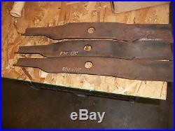OEM Set of 3 Blades for Land Pride 60 Cut Finish Mowers, 890-204C, 890-171C