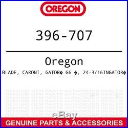 Oregon 396-707 Gator G6 Blades Caroni TC710 Finish Grooming Mower with 71 3-PACK