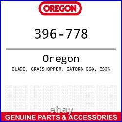 Oregon 396-778 Gator G6 Blade Bush Hog FTH ATH 720 Finish Rotary Mowers 3-PACK