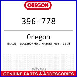 Oregon 396-778 Gator G6 Blade Bush Hog FTH ATH 720 Finish Rotary Mowers 6-PACK